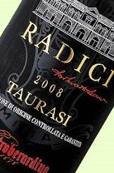 タウラージ ラディーチ 2008 フルボディ 赤ワイン