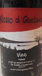 ロッソ ディ ガエターノ 2011 レ コステ 辛口 赤ワイン
