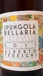 白ワイン 辛口 ピニョレット スプンゴラ ベッラリア 2011 イタリア