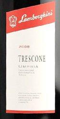 トレスコーネ ウンブリア ロッソ  ランボルギーニ 辛口 赤ワイン