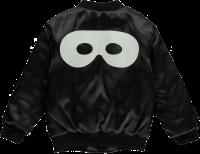 <img class='new_mark_img1' src='https://img.shop-pro.jp/img/new/icons5.gif' style='border:none;display:inline;margin:0px;padding:0px;width:auto;' />★2018AW★Beau LOves ビューラブズ Bomber Jacket Black White Hero Mask (Back)