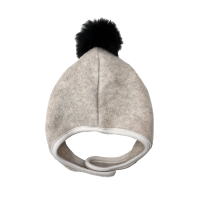 <img class='new_mark_img1' src='https://img.shop-pro.jp/img/new/icons5.gif' style='border:none;display:inline;margin:0px;padding:0px;width:auto;' />★chocolatesoup★FLEECE POMPOM BONNET BEIGE フリースポンポンボンネット ベージュ CS-10017