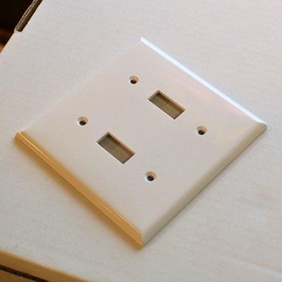U.S.plastic plate double
