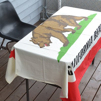 CALIFORNIA REPUBLIC TABLE CLOTH