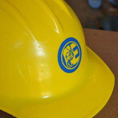 Reddy Kilowatt Work Helmet