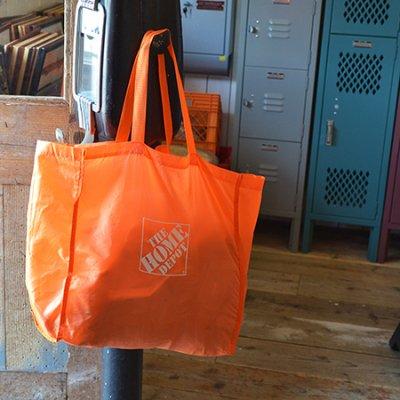 HOME DEPOT SHOPPING BAG