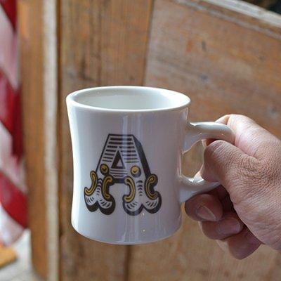 alphabet mugcup