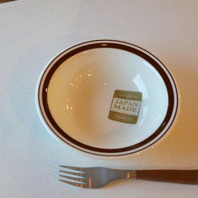BROWN LINE Fruit Plate