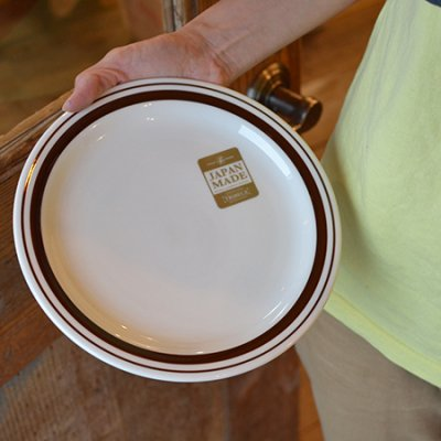 BROWN LINE 9inch Plate