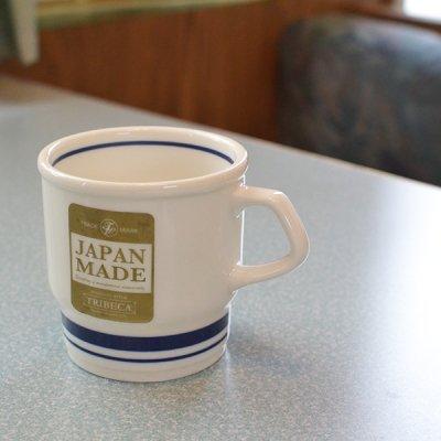 BROWN LINE Mug Cup