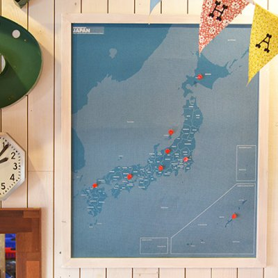 "Pin Map Frame""Japan"""