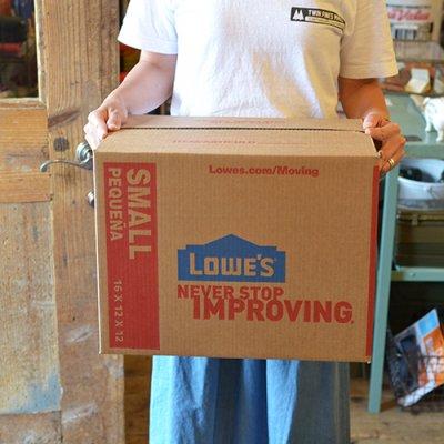 LOWE'S UNIT BOX 3P SET