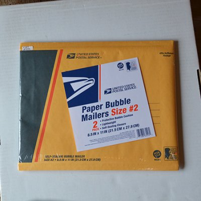 USPS Paper Bubble Mailers(2set)