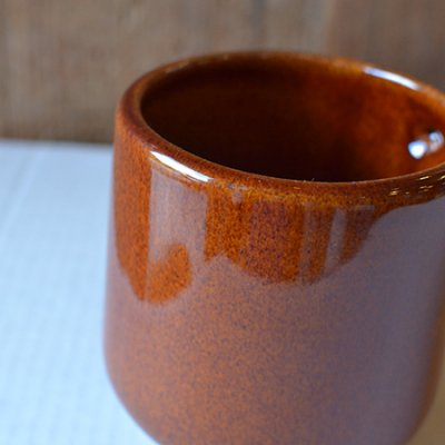 "Handmade Stoneware Mug ""Copper Clay"""
