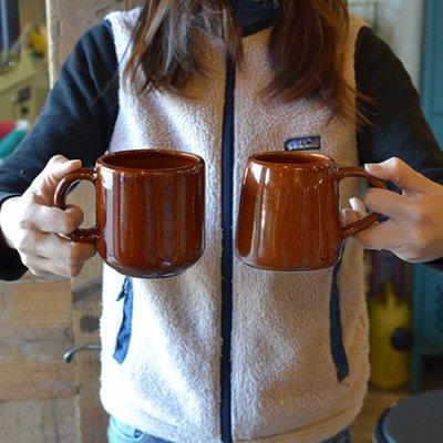 "Handmade Stoneware Mug Classic ""Copper Clay"""