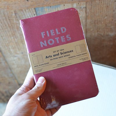 FIELD NOTES ARTS AND SCIENCES