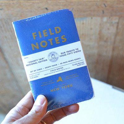 FIELD NOTES COUNTY FAIR