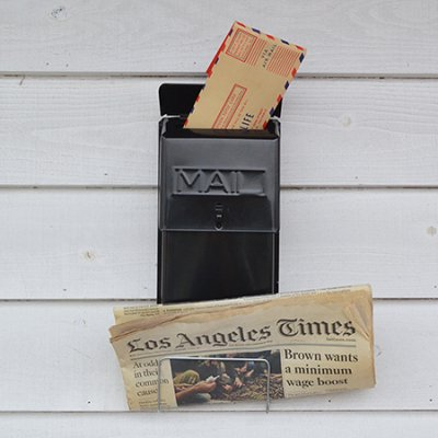 Economy Vertical Wall Mount Mailbox