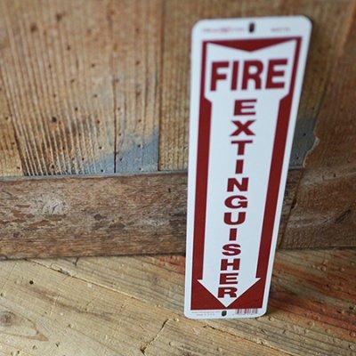 Hillman FIRE Sign