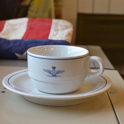 ITALIA ARMY cup&saucer