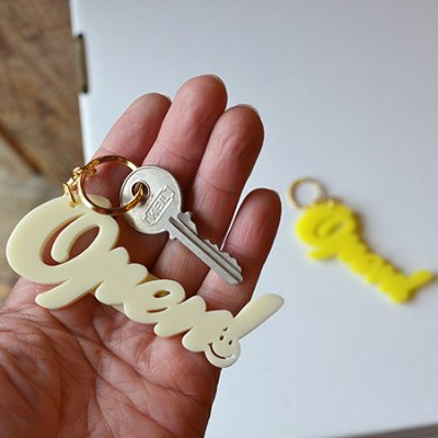 FUNNY OPEN ! Key Holder