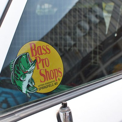 Bass Pro Shops Original Sticker