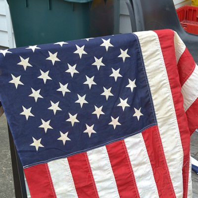 Vintage American Flag 2