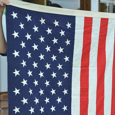 Vintage American Flag 3