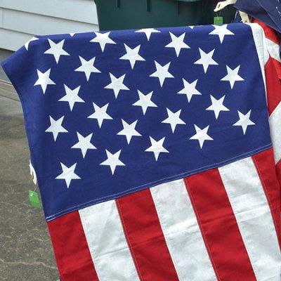 Vintage American Flag Big size