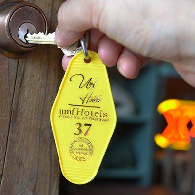 Motel Key Holder