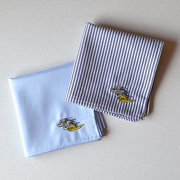 DEATH PROOF DUCK Handkerchief by H TOKYO Set of 2