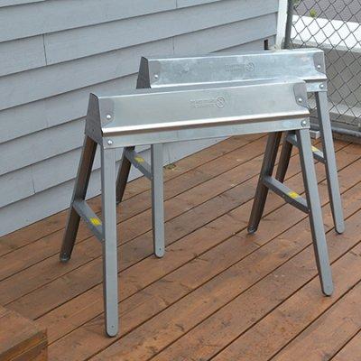 EBCO Metal Folding Sawhorse