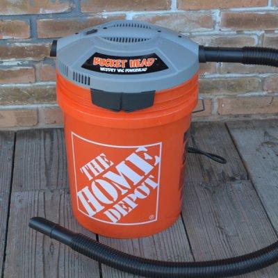 Bucket Vac Power Head & Bucket