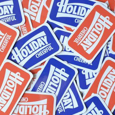 2017 HOLIDAY ORIGINAL STICKER