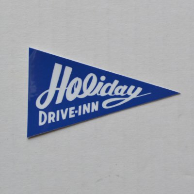 2017 HOLIDAY FLAG STICKER