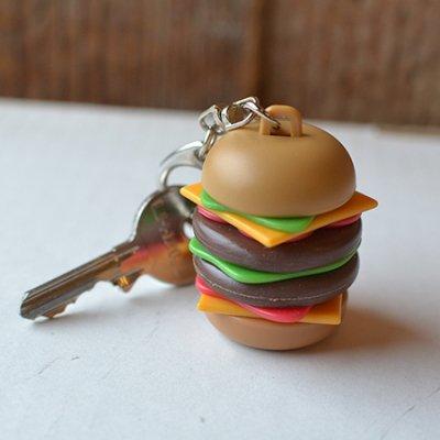 Burger Keyring
