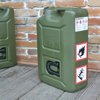Fuel Can Pro 20L(STICKER SET)