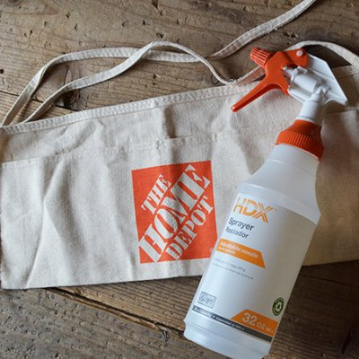 HOME DEPOT SPRAY