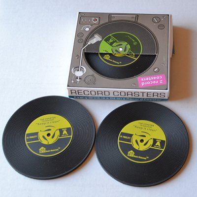 RECORD COASTER 2P SET
