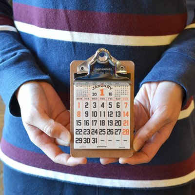 2018 CLIPBOARD CALENDAR MINI penco