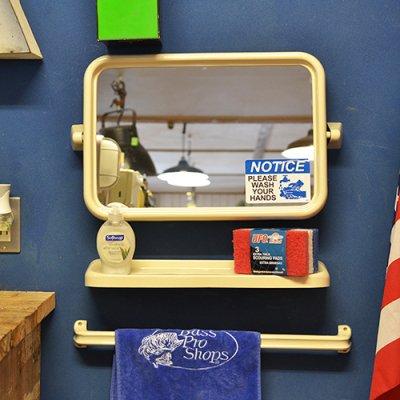 Sanitary mirror set