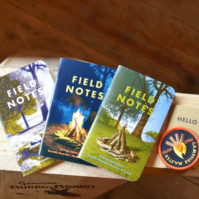 FIELD NOTES  CAMP FIRE 3-PACKS