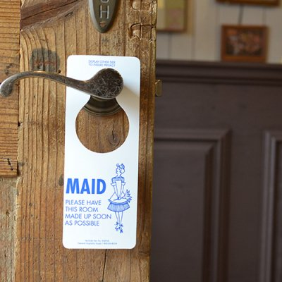 MOTEL DOOR SIGN