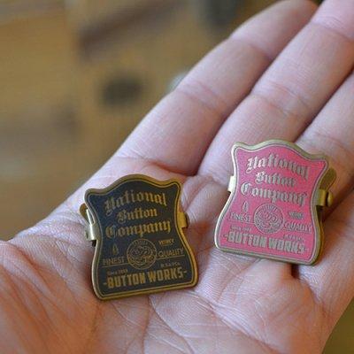 Button Works Vintage Style Mini Clip