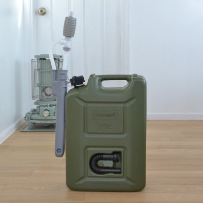 Hunersdorff Fuel Can Pro 20L with Olive pomp