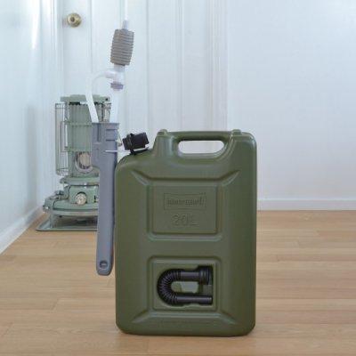 Hunersdorff Fuel Can Pro 20L pomp set