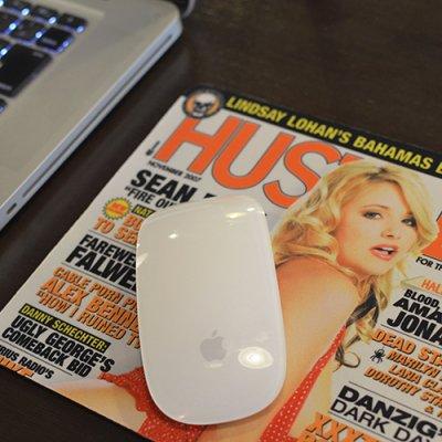 HUSTLER Mouse Pad