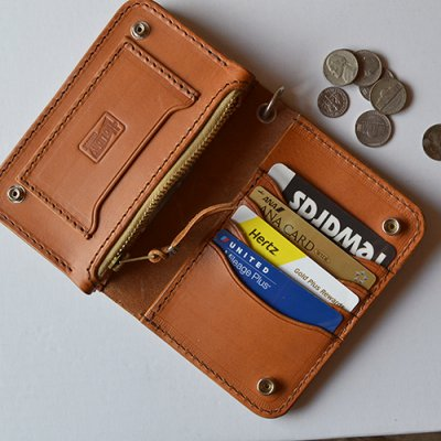 HOLIDAY LEATHER WALLET