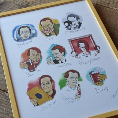 BUSCEMI Poster Frame