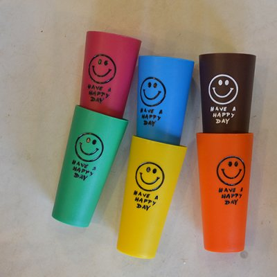 Smile Plastic Cup 6pcs Set